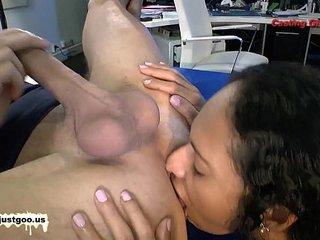 German Goo Girls - Exotic babe Rosa Ass licker!