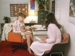 Vintage clip - Teacher and her pupil
